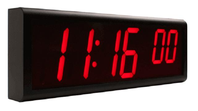 Ethernet Digital Clock